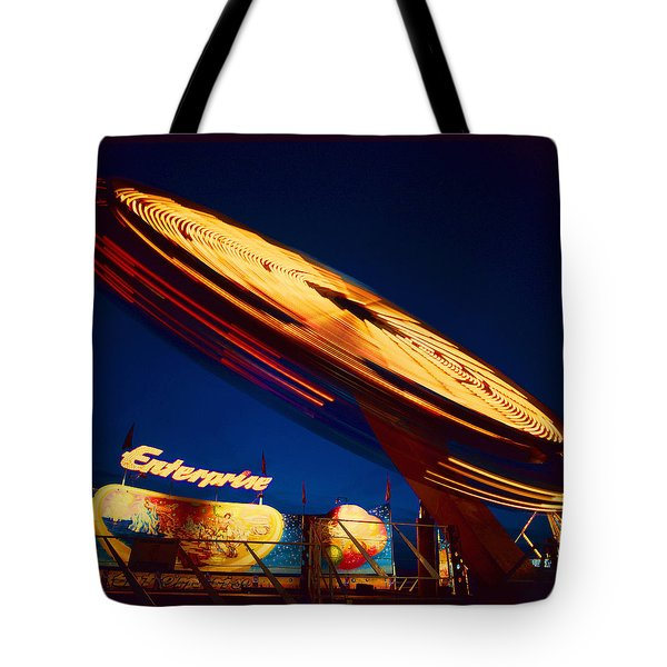 Enterprise Tote Bag by Don Spenner