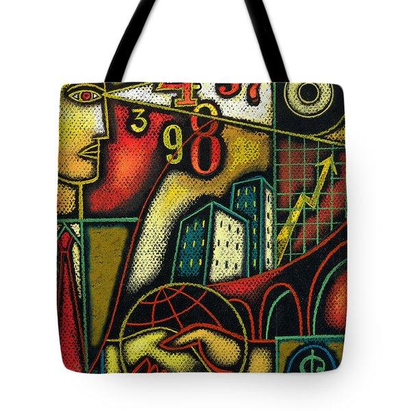 Enterprise Tote Bag by Leon Zernitsky