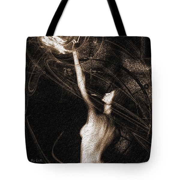 Entities Touch Tote Bag by Bob Orsillo