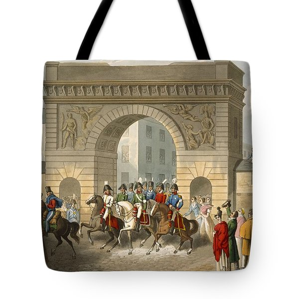 Entrance Of The Allies Into Paris Tote Bag