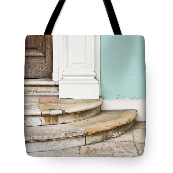 Entrance Steps Tote Bag by Tom Gowanlock