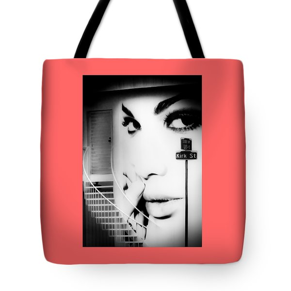 Entrance To A Woman's Mind Tote Bag by Karen Wiles
