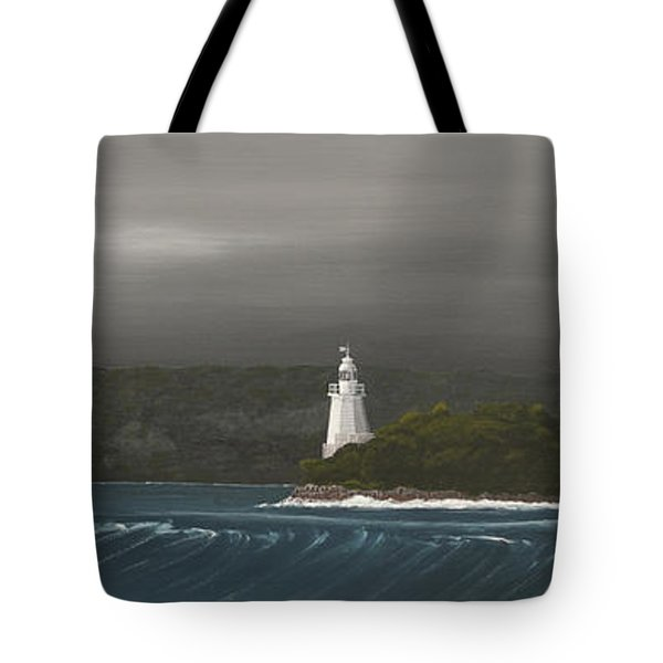 Entrance To Macquarie Harbour - Tasmania Tote Bag by Tim Mullaney