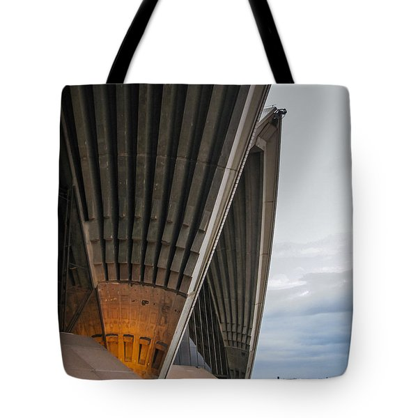 Entrance To Opera House In Sydney Tote Bag by Jola Martysz