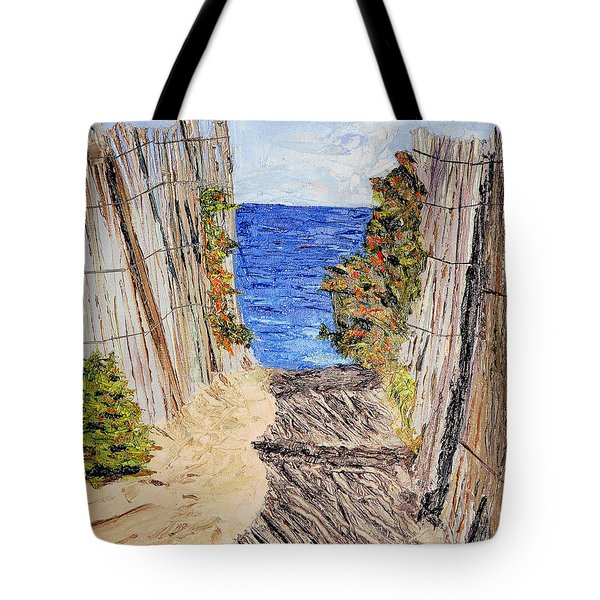 Entrance To Summer Tote Bag