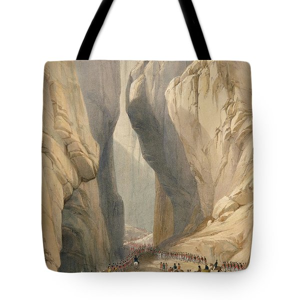 Entrance To The Bolan Pass From Dadur Tote Bag