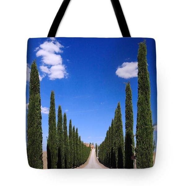 Entrance To Villa Tuscany - Italy Tote Bag
