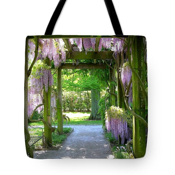 Entranceway To Fantasyland Tote Bag