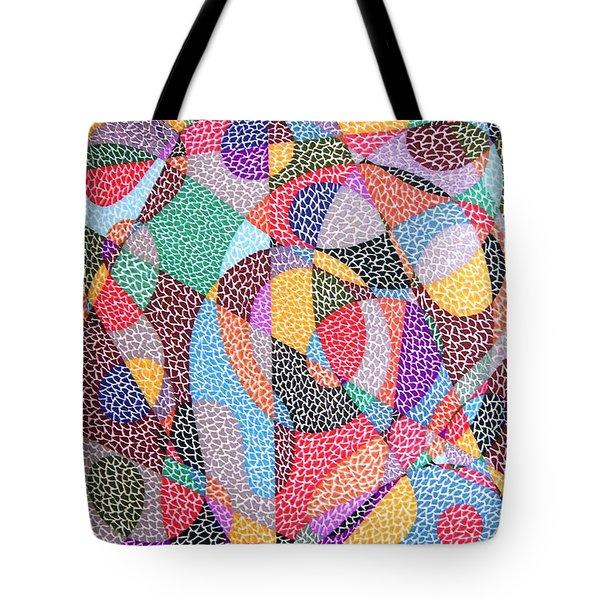 Convergence Tote Bag by Kruti Shah