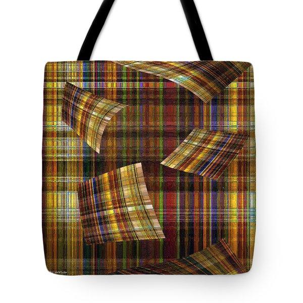 Entropy Tote Bag by RC deWinter