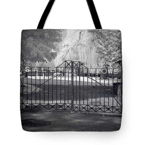 Entry To Salem Willows Tote Bag