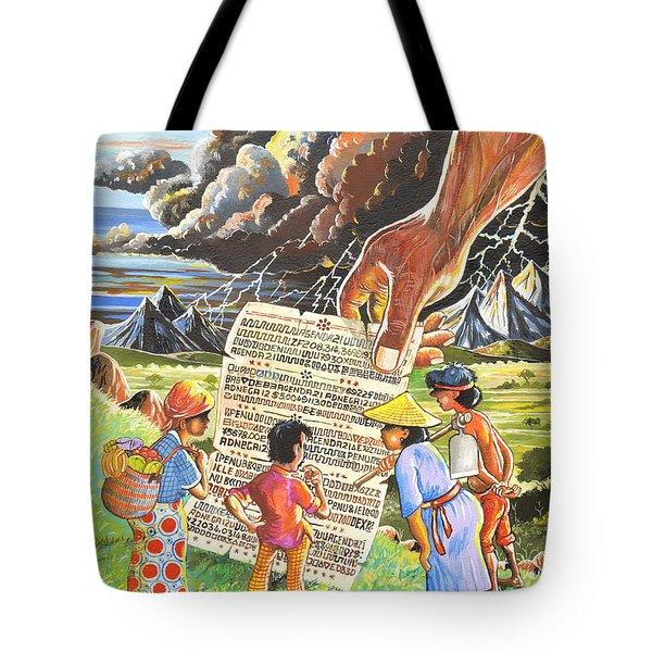 Environmental Jargon Tote Bag