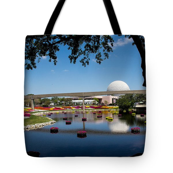 Epcot At Disney World Tote Bag by Roger Wedegis