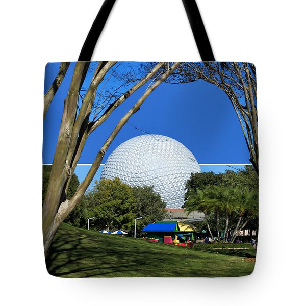Epcot Globe 02 Tote Bag by Thomas Woolworth
