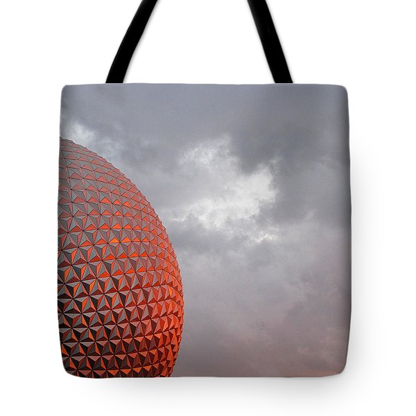 Tote Bag featuring the photograph Epcot by Greg Simmons