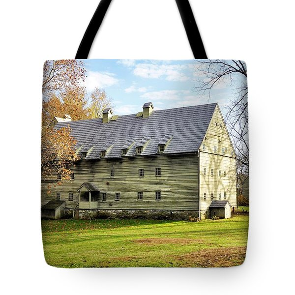 Ephrata Cloister Tote Bag by Jean Goodwin Brooks