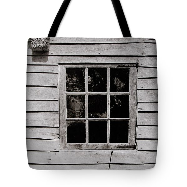 Tote Bag featuring the photograph Ephrata Cloisters Window by Jacqueline M Lewis