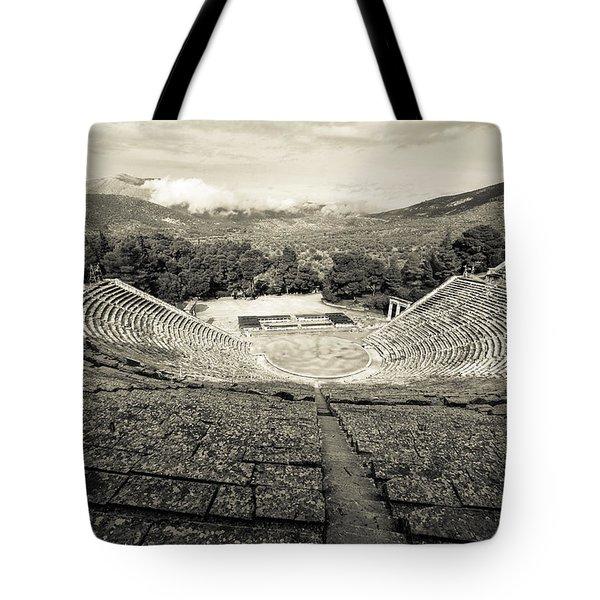 Epidavros Theatre Tote Bag