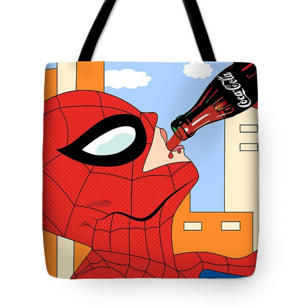 Epiderman   Tote Bag by Mark Ashkenazi