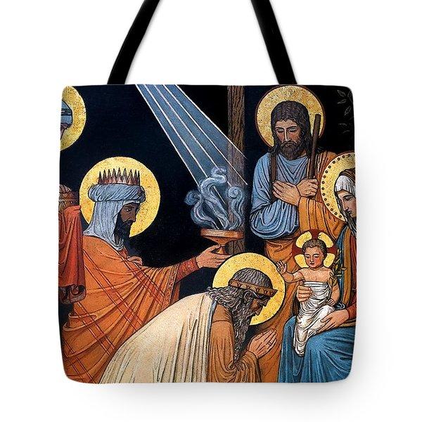 Epiphany Tote Bag by Munir Alawi