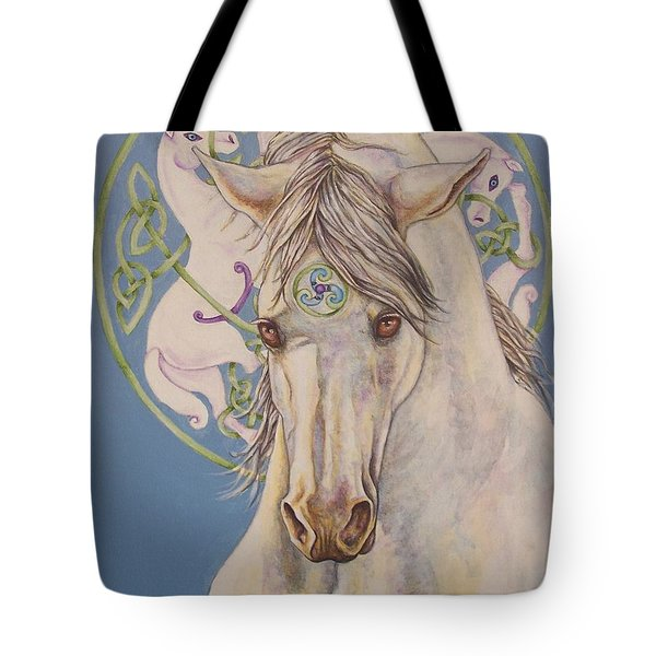 Epona The Great Mare Tote Bag by Beth Clark-McDonal