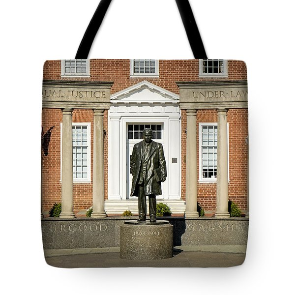 Equal Justice Under Law Tote Bag