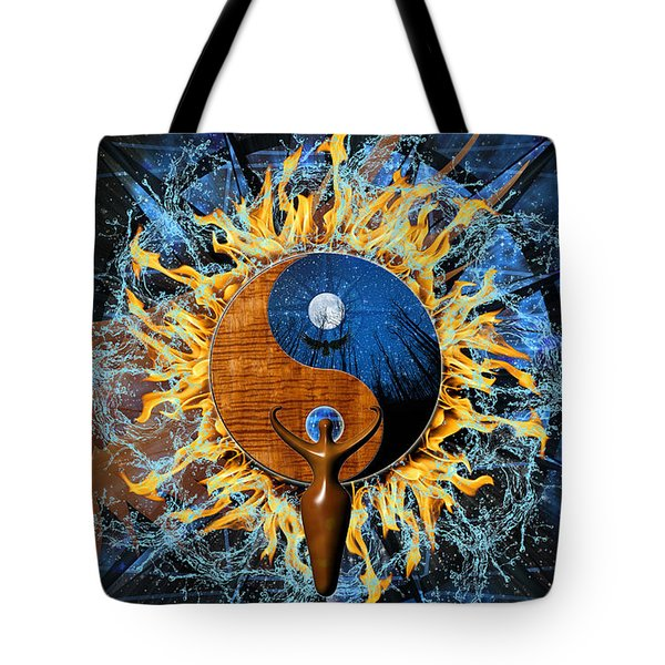 Equilibria Tote Bag by Kenneth Armand Johnson