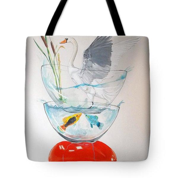 Equilibrium Tote Bag by Lazaro Hurtado