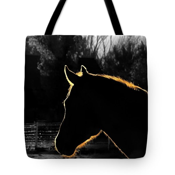 Equine Glow Tote Bag