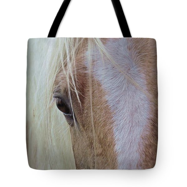 Equine Head Study Tote Bag