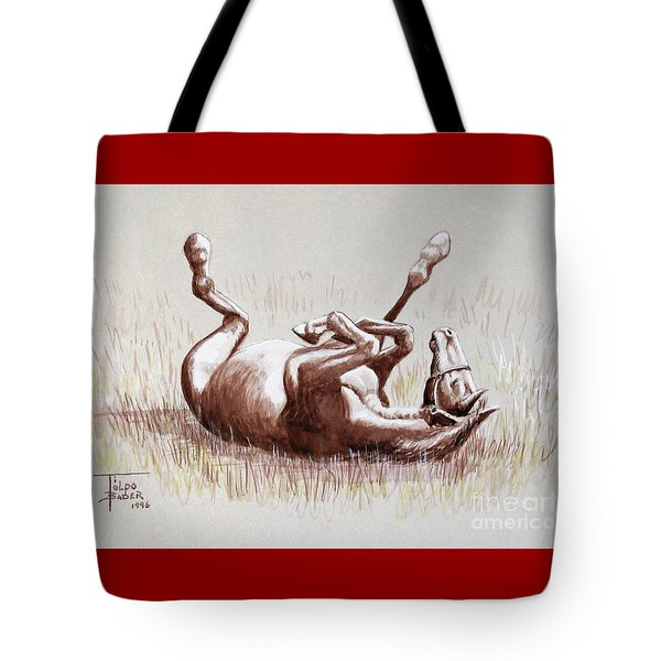 Equine Itch Tote Bag