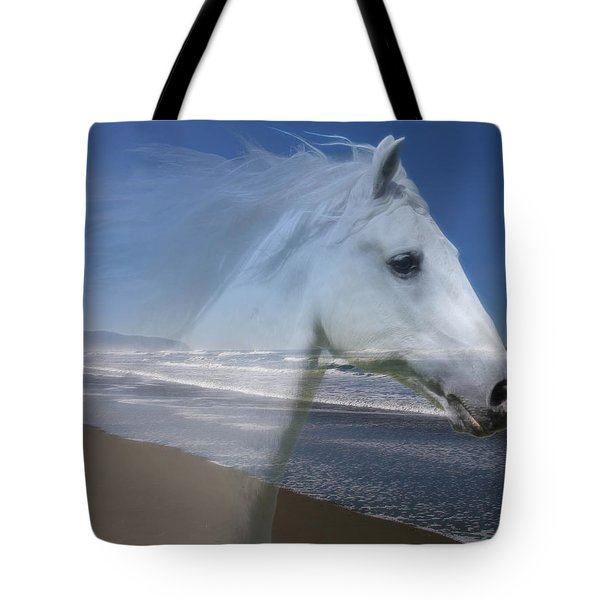 Equine Shores Tote Bag