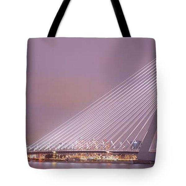 Erasmus Bridge, Rotterdam, Holland Tote Bag