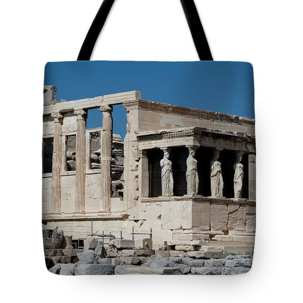 Erechtheion With The Porch Of Maidens Tote Bag