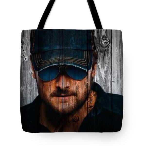 Eric Church Tote Bag by Dan Sproul