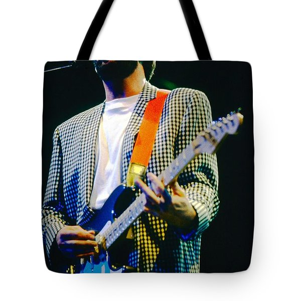Eric Clapton A1 Tote Bag by David Plastik