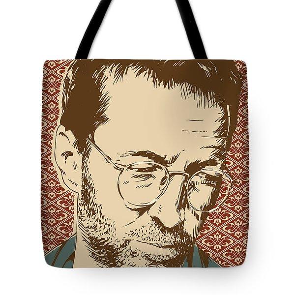 Eric Clapton Tote Bag by Jim Zahniser