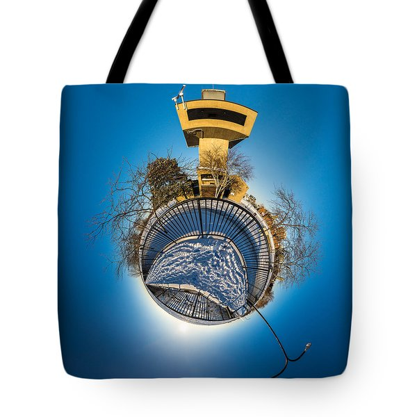 Erie Basin Marina Observation Tower Tote Bag
