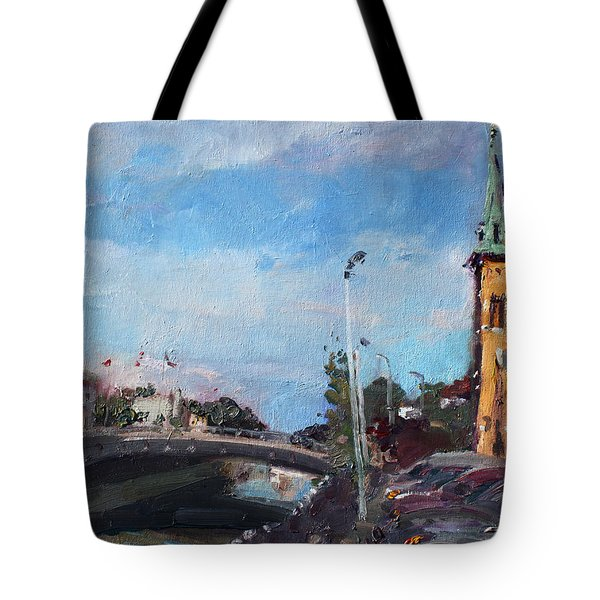 Erie Canal In Lockport Tote Bag