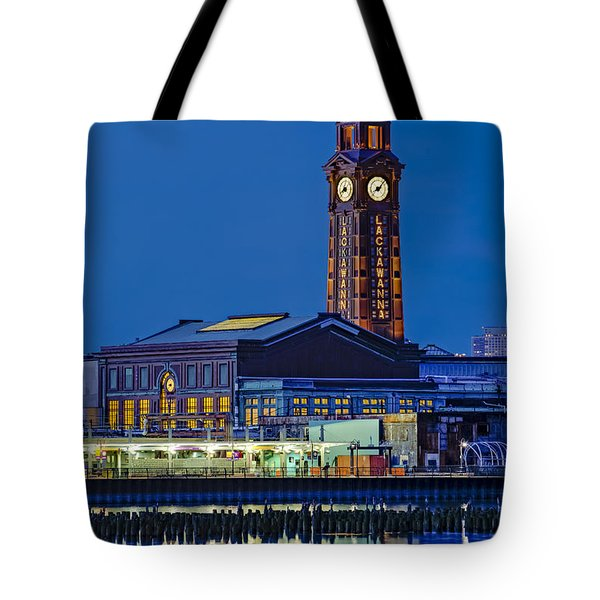 Erie Lackawanna Terminal Hoboken Tote Bag