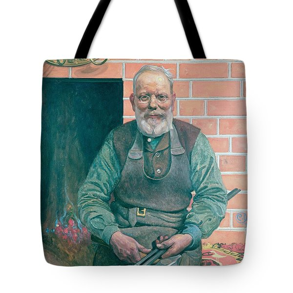 Erik Erikson The Blacksmith Tote Bag