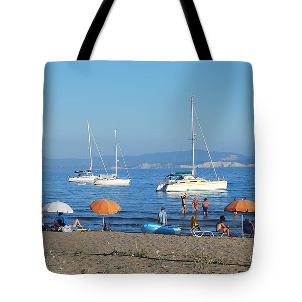 Erikousa Beach One Tote Bag