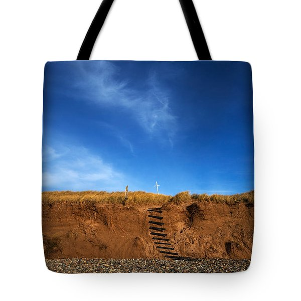 Eroded Low Cliffs, Tramore, County Tote Bag
