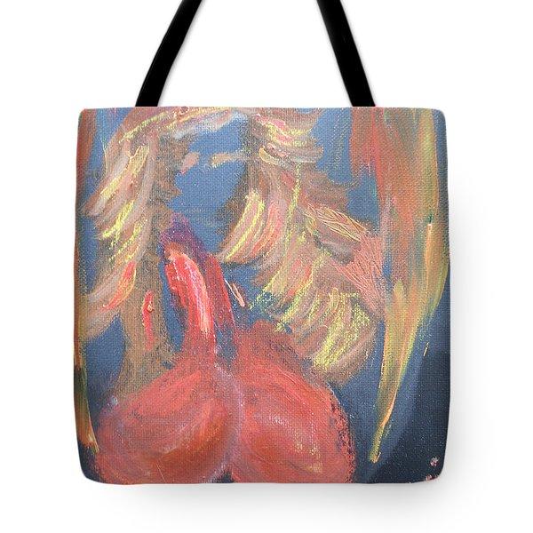Eros Angel Tote Bag