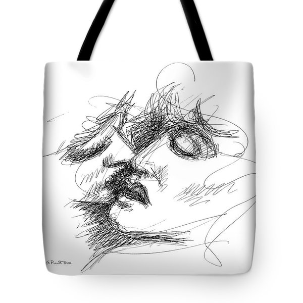 Erotic Art Drawings 15f Tote Bag
