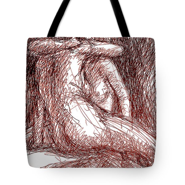 Erotic Drawings 19-2 Tote Bag