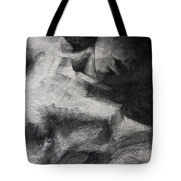 Erotic Sketchbook Page 1 Tote Bag by Dimitar Hristov