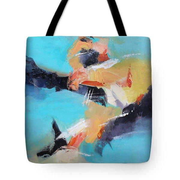 Eruption 2 Tote Bag