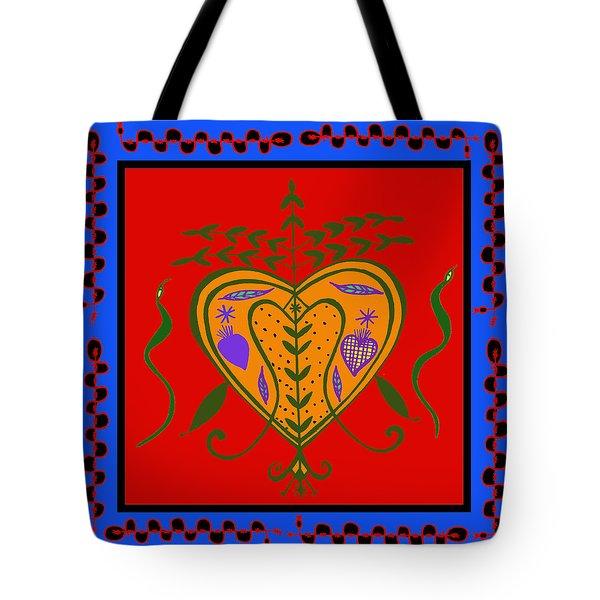 Tote Bag featuring the digital art Erzulie Freda by Vagabond Folk Art - Virginia Vivier