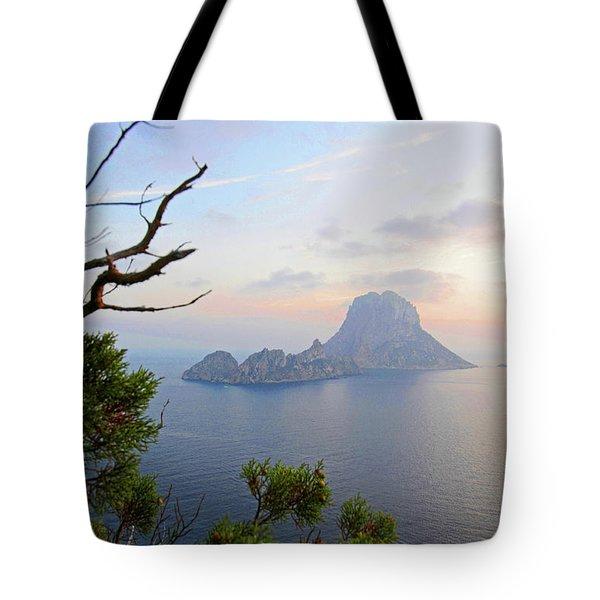 Es Vedra Rock, Ibiza Tote Bag